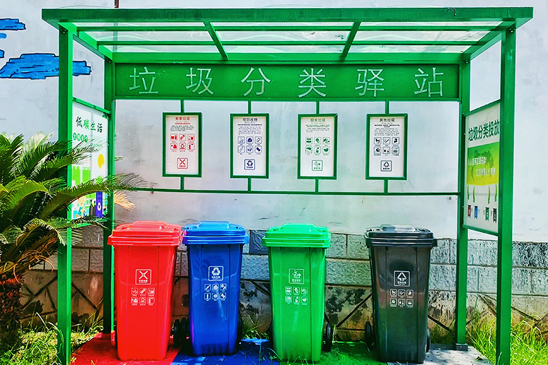 惠州小区果皮箱-塑料垃圾桶