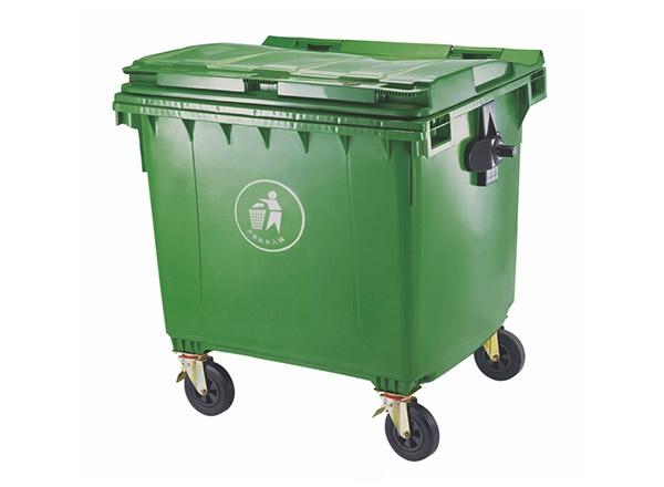 环保垃圾桶1100L-塑料垃圾桶
